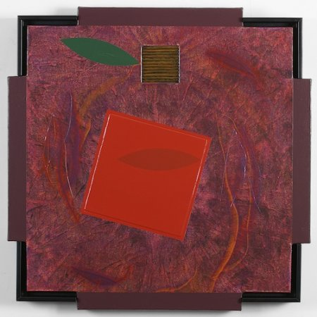 2004, mixed media, 24 x 24 inches